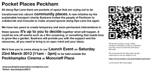 Pocket Places Peckham Flyer-2