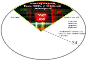 34. adverts for local events