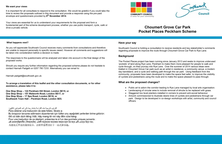 Bournemouth - Choumert Consultation Document FINAL for WEB-1